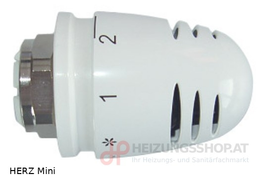 HERZ Thermostatkopf Mini Schnapp